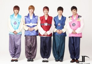 MBLAQ-TWO X New Years Greetings in Hanbok,