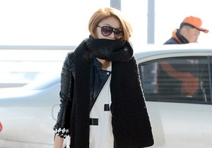 VIP Ailee Leaves Ice Cold Korea to Attend the 55th Grammy Award in Sunny LA