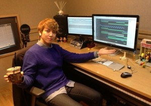CNBLUE Jung Yong Hwa Reveals Recording Studio, 'Where the Magic Happens'