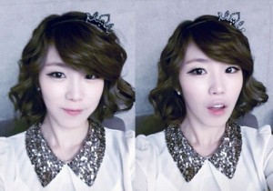 SECRET Jun Hyosung is a Princess? 'Picture With a Tiara'