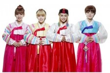 tiny-g new years greetings in hanbok