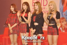 EXID Talks About Their Group And Music At The Press Conference In Singapore
