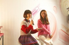 Beautiful f(x)'s Sulli, Krystal at Etude Sweet Recipe Beauty Class