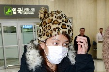 Airport Fashion: BOA All Bundled Up Returning from Concluding Promotion in Japan