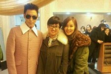 Ko So Young, Back Stage Picture With Big Bang's T.O.P