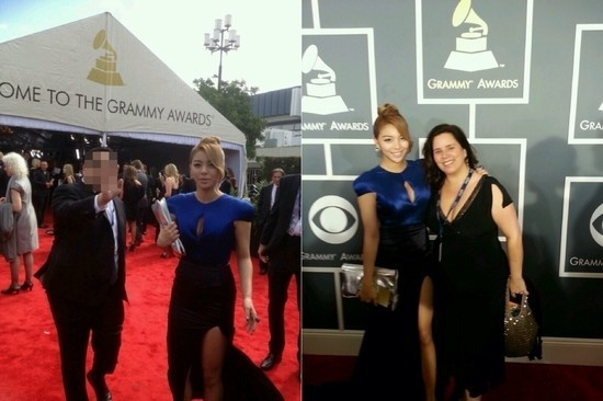 Ailee, Picture at Grammy Awards Red Carpet, 'I Feel Like a Pop Star'key=>0 count1