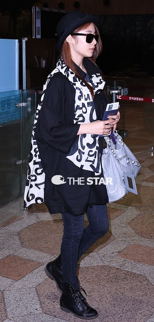 T-ara Jiyeon's Airport Fashion and Casual Stylekey=>0 count15