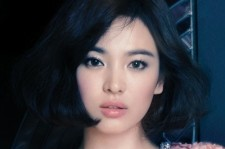 Song Hye Kyo Looks Stunning Even in Short Hairdo for Elle Korea