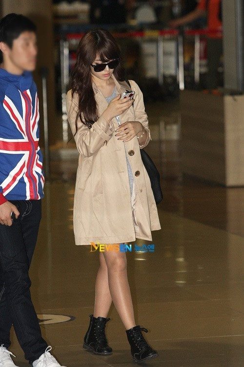 T-ara Jiyeon's Airport Fashion and Casual Stylekey=>5 count15