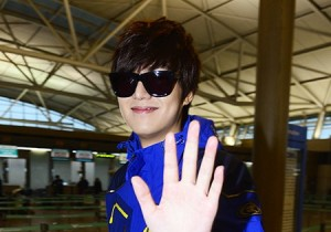 Lee Min Ho, airport fashion