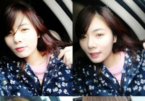 4minute HyunA Without Smokey Eye Makeup, 'Different Person'