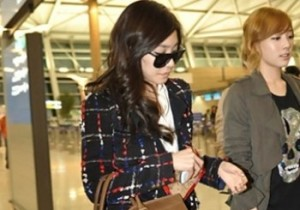 Girls' Generation Tiffany's Airport Fashion and Casual Style