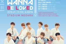 Wanna One fanmeeting in Kuala Lumpur