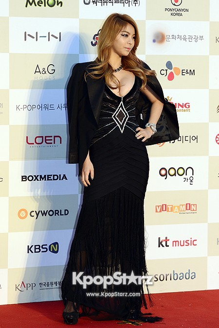 Gaon Chart Red Carpet: Aileekey=>3 count7