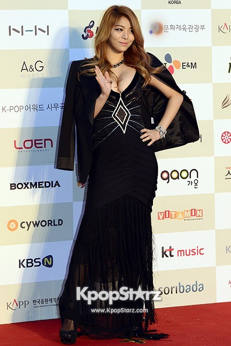 Gaon Chart Red Carpet: Aileekey=>5 count7