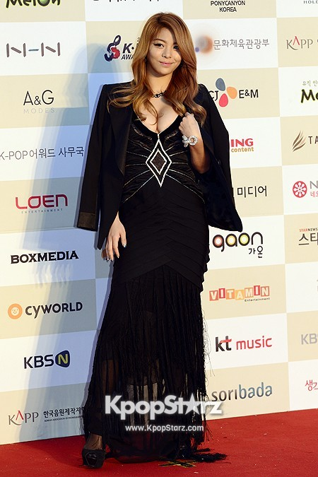 Gaon Chart Red Carpet: Aileekey=>6 count7