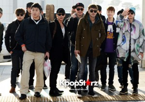 Super Junior-M Leaving for Fan Party [Break Down] in Bangkok