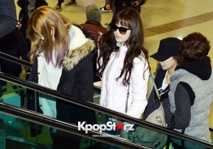 Airport Fashion: Girls' Generation Leaving for Arena Tour in Tokyo