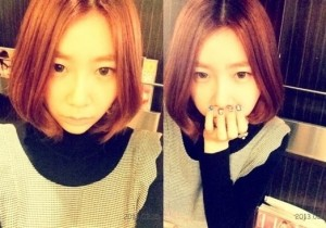 Brown Eyed Girls JeA Reveals Short Haircut! 'Awkward?'