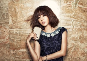 Sung Yu Ri for Marie Claire January Issue 2013