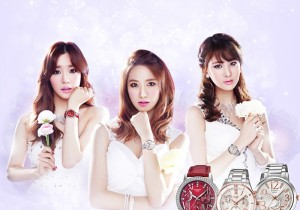 Girls' Generation's New Commerical for Casio