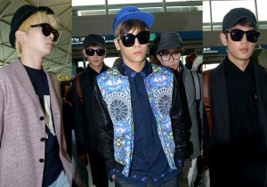 SHINee Leaving for a Samsung CF filming in Bangkok