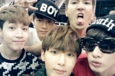 super junior m group self-camera