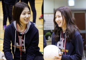 park shin hye sports festival fan meeting for birthday