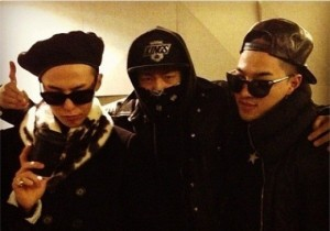 Big Bang G-Dragon-Taeyang and Producer Teddy, 'All-Black Outfits With Charisma'