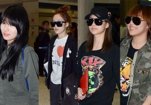 Airport Fashion: Miss A Return to Korea Concluding Show Case in Singapore