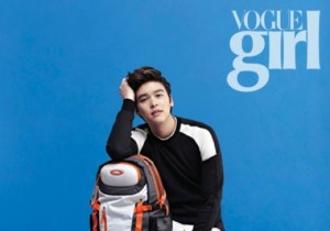 Actor Lee Jang Woo Shoots for Cover of Vogue Girl, 'Popular Student on Campus'