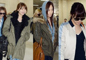 Airport Fashion: Girls' Generation Return to Korea Concluding the 2nd Japan Arena Tour Concert (Girls & Peace)