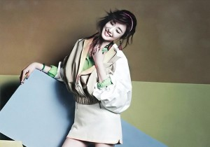 Girls Generation's (SNSD) Tiffany Vogue Girl March Issue 2013