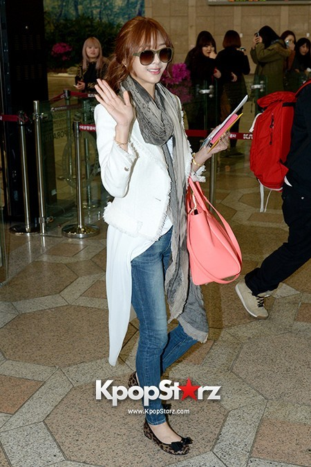 G.NA Leaving for 2013 United Cube Concert in Yokohama, Japankey=>14 count16
