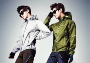 TVXQ's Dynamic Photo Shoot for Outdoor Brand Lafuma