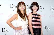 Sulli and Victoria Dior Popup Project