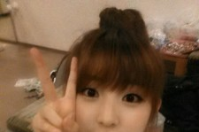 4minute Kwon Sohyun Is a Hamster? 'Cute Self-Camera'