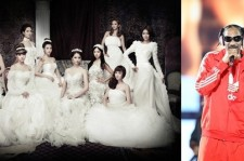Girls' Generation link arms with American sensation Snoop Dog