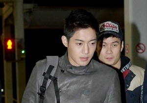 Kim Hyun Joong Leaving for '2K13 Feel Korea' in Sao Paulo, Brazil