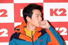 Hyun Bin Chic Charisma at 2013 S/S Fashion Show for Outdoor Brand K2