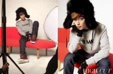 TOP Photo Shoot With High Cut
