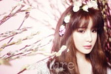 2NE1's Park Bom Reveals Her Pure and Beauty in Allure Magazine