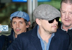 Leonardo DiCaprio Arrived Korea for Promoting Movie Django