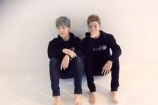 B.A.P Bang Yongguk-Zelo Reveal Barefoot Self-Cam Photos, 'BANG&ZELO'