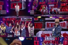Exid on M Countdown stage