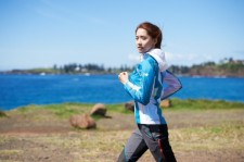 yoona lee min ho eider jogging photo shoot
