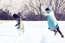 'That Winter' Breathtaking Photo Sketches for High Cut Magazine