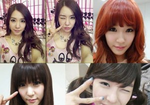 Girls' Generation Tiffany Self-Cam Photo Collection