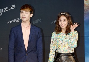 Super Junior-M's Henry and Mmiss A's Fei at 'G.I. JOE 2' VIP Red Carpet
