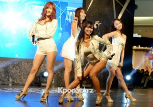 Sistar Celebration Performance for 'G.I. JOE 2'
